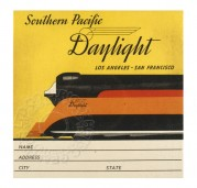 USA Rail Sticker for Southern Pacific